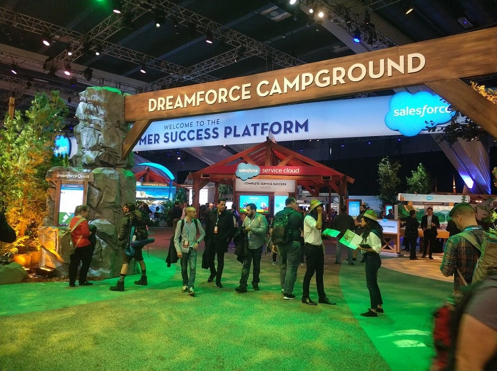 Dreamforce signage
